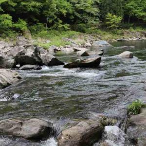 四国中央市嶺南地方、銅山川三ダム見学。