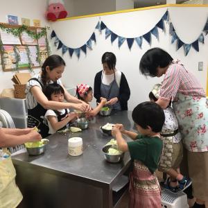 江戸川区船堀けさらんぱさらん 夏休み親子カレーの会 開催しました。