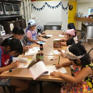 江戸川区船堀 キッズパン教室けさらんぱさらん レッスン終了しました。