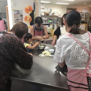 江戸川区船堀けさらんぱさらん 親子パンの会開催しました。