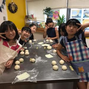 江戸川区船堀 パン教室 貸し切りキッズパン教室開催しました。