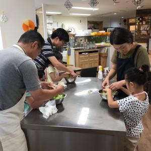 江戸川区船堀 親子パン教室 パパも参加してくれました!!