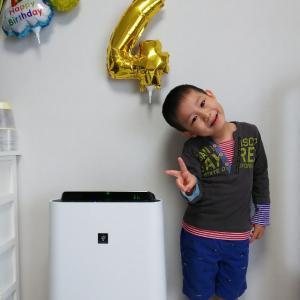 ☆次男くん 祝4歳のお誕生日☆