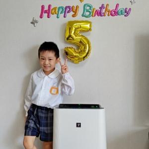 ☆次男くん5歳のお誕生日☆