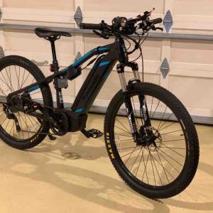パナソニックXM1 ハンドルバー 700mm幅に交換 e-bike