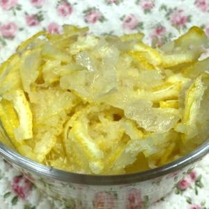 ☆柚子シロップ仕込み・ひとつ分の柚子☆