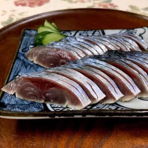☆しめ鯖そして、キュウリはアイスで楽しい食感☆
