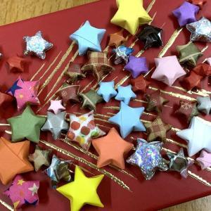 ☆紙テープで作る星☆
