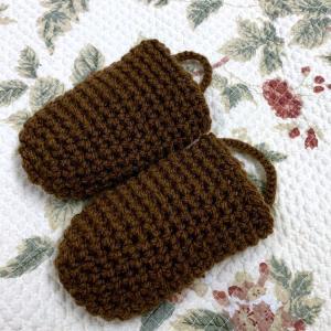 ☆小さな編み編みをふたっつ☆
