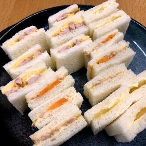 ☆夕食に久々のサンドウィッチ☆