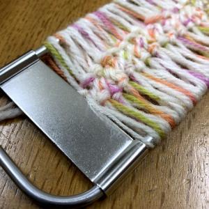 ☆ヘアピン編み器で、編み編み☆