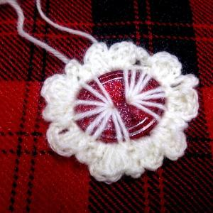 ☆ボタンで・小さな遊びのかぎ針編み☆