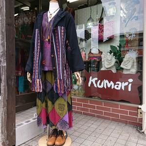 入荷☆ゲリ織りフード付きジャケット