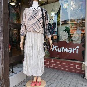 入荷☆ダブルガーゼ変形スカート