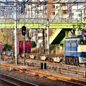 ダイヤ改正後も健在の55レ・1051レ・74レの3連発を東淀川で撮影
