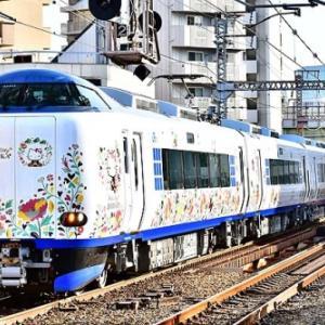 9両編成化された関空特急はるかを大阪環状線で撮影~野田~