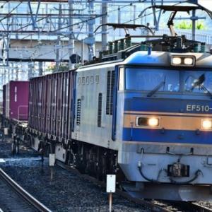 1051レ・4058レ・1053レの3連発を島本駅で撮影