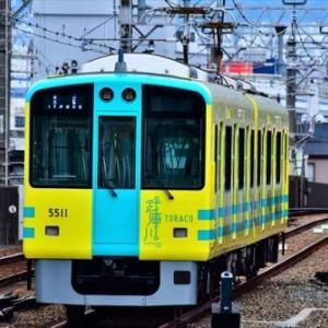 TORACO塗装の5500系送り込みを甲子園と武庫川で撮る