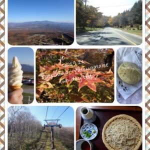 土日で蓼科〜八ヶ岳周辺ドライブ旅してきました