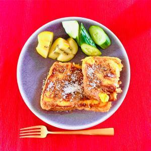 ●最近お気に入りの簡単フレンチトースト