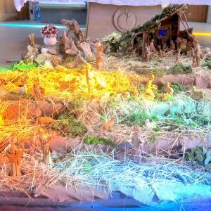 虹色の光きれいなプレゼーペ、オルヴィエート
