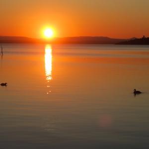 瞑想の力 夕日の力、アッシジで瞑想講座