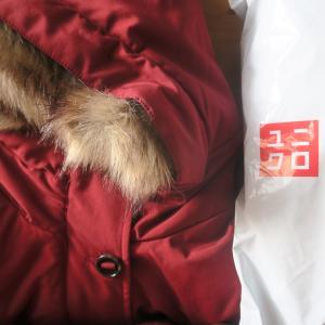 ユニクロのコート届いてうれしいな、イタリアでオンライン注文