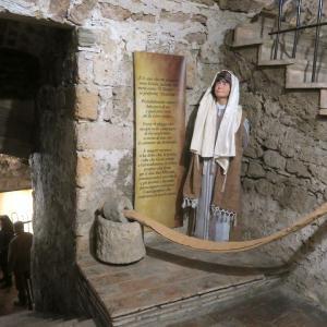 忠誠な使徒ユダ イエスの時代の銀貨、オルヴィエート カーヴァの井戸