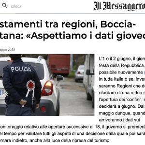 いつから州境を越えられるか 決定は6月1日・2日〜イタリア 3日以降全土OKか否か、北伊一部の州先送りか