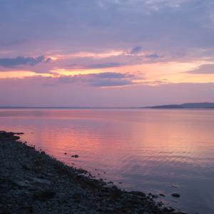 夕映と夫陰性でほっとしました、トラジメーノ湖