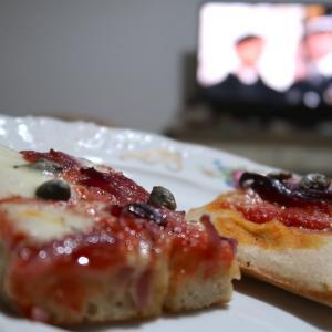 平日の夜のドン・マッテーオと週一の夫のピザ