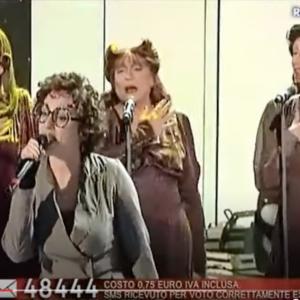 第37号「サンレモ音楽祭、アリーザの歌『Malamorenò』」