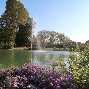 フィレンツェで紅葉愛で歩きカッシーネ公園へ
