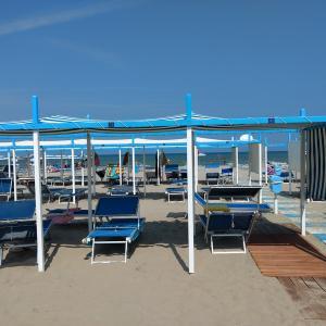アドリア海の夏の浜から、リッチョーネ