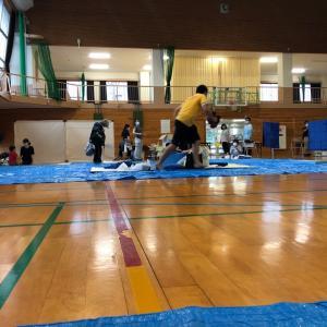 台風10号 カタ:(ˊ◦ω◦ˋ):カタ  避難所に早急に避難!