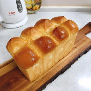 ホテル食パンでフルーツサンド