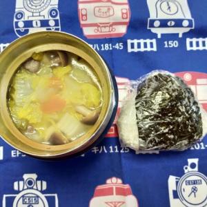 2/3(月)おにぎりと中華スープ弁当
