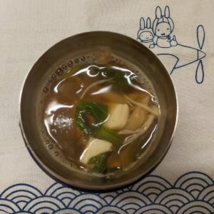 2/7(水)味噌汁弁当とブロッコリーは放置のススメ