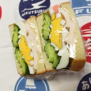 3/12㈭親子ときゅうりのサンドイッチ弁当