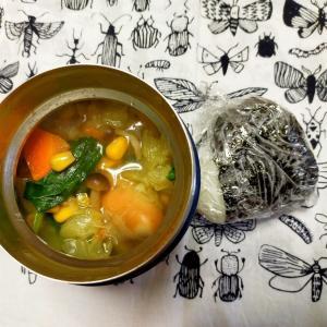3/18(水)おにぎりとコンソメスープ弁当