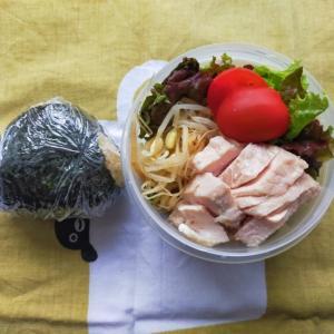 6/23(水)玄米おにぎりとサラダ弁当