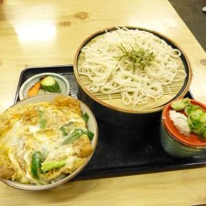 ☆絶品の蕎麦屋!日本そば『大江戸』~ざる蕎麦+ミニカツ丼~(別府市)