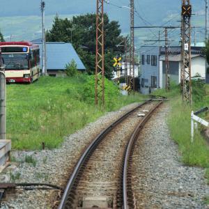 盛夏の長野電鉄(湯田中⇒中野松川)_2019年8月