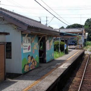夏の九州乗り鉄(島原鉄道②_大正⇒三会)_2019年8月
