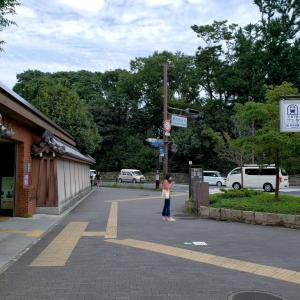暑い京都の夏・烏丸今出川_2020年8月