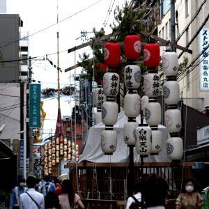 祇園祭(山鉾建て)_2021年7月