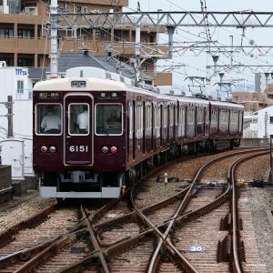 阪急支線に乗車(伊丹線_塚口→伊丹)2021年8月