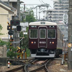 阪急支線に乗車(甲陽線_夙川→甲陽園)2021年8月