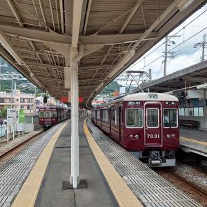 阪急支線に乗車(箕面線_石橋阪大前⇒箕面)2021年8月