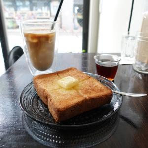吉祥寺 リュモンコーヒースタンドでラテとバタートースト